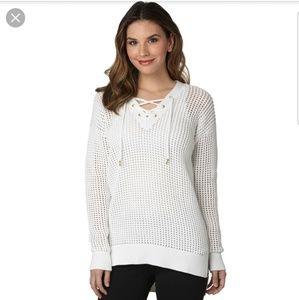 Michael Kors Fishnet Sweater